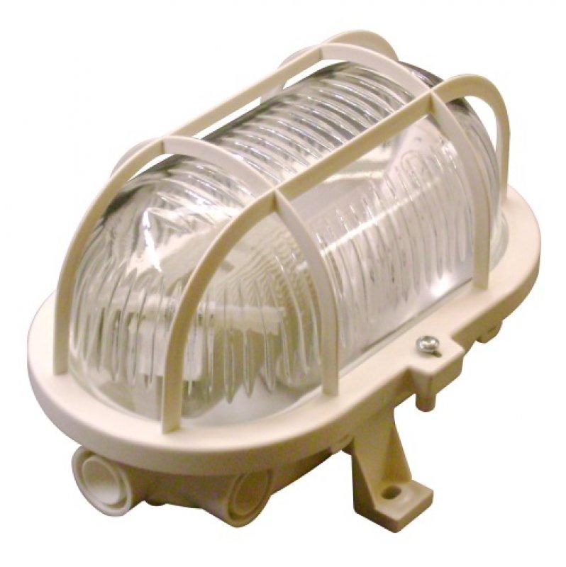 lampe mit schutzkorb weiss oval f r innen und au en e27 ip44 von intelectra bewegungsmelder. Black Bedroom Furniture Sets. Home Design Ideas